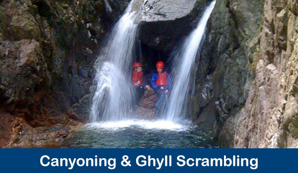 Canyoning & Ghyll Scrambling Adventures