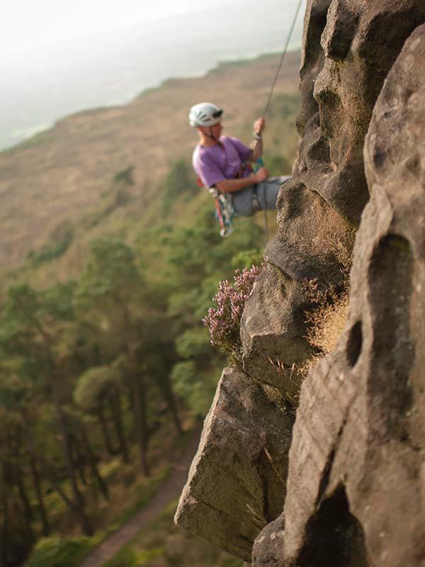 Rock Climbing & Abseiling Adventures - Climb Abseil Roaches